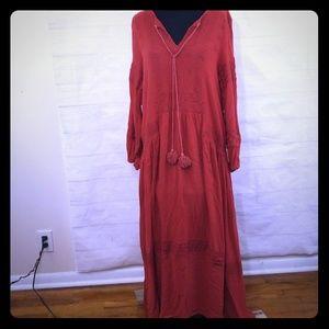 Chicwish Festival Peasant Dress